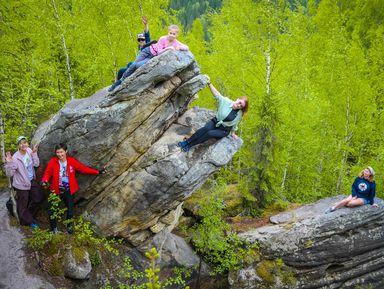 2 в 1: Каменный город и Шумихинские скалы