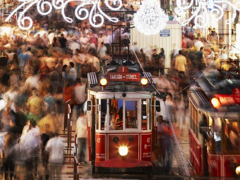 Экскурсия Стамбул — это Истикляль!