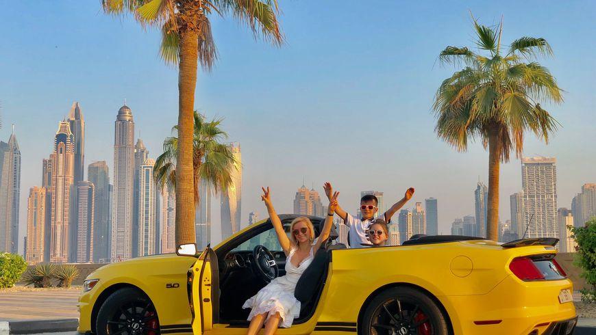 По Дубаю на кабриолете