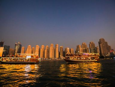 Современный Дубай и круиз по Дубай Марине