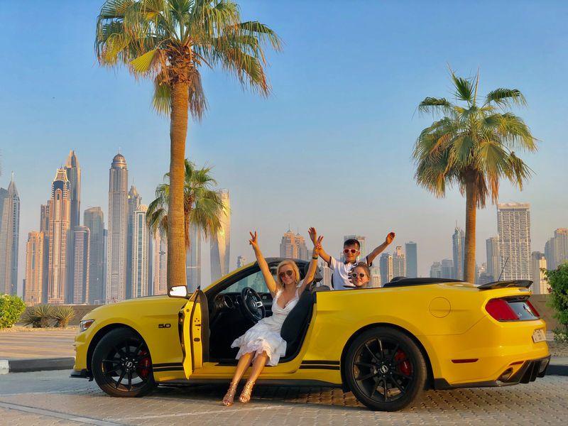 Экскурсия По Дубаю на кабриолете