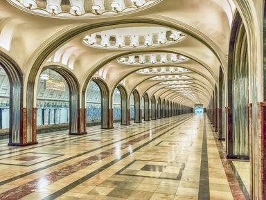 Московское метро: подземный храм СССР
