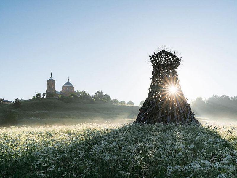 Экскурсия Никола-Ленивец: потропам арт-парка