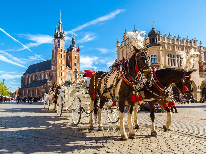 Экскурсия в Краков и на соляные копи «Величка» из Варшавы