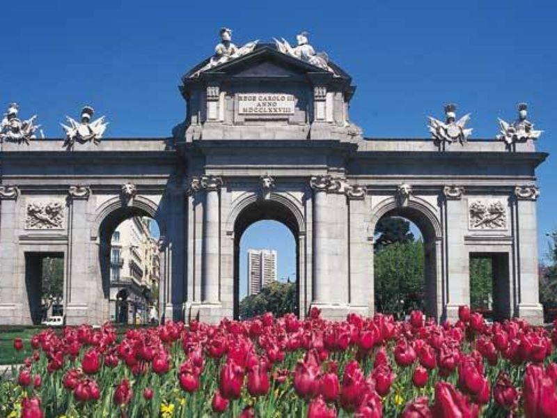 Фото Величественный Мадрид
