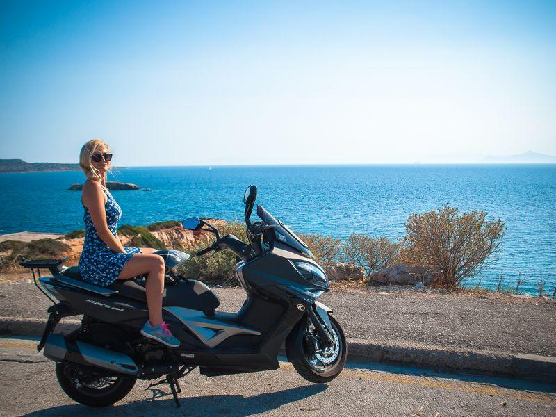 Фото Мотопрогулка по Афинской Ривьере