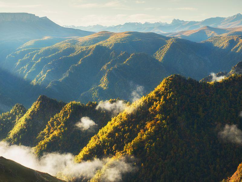 Экскурсия Cквозь облака— кзаповедному Джилы-Су