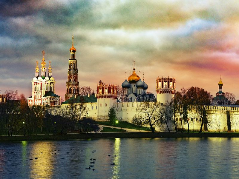 Экскурсия Экскурсия по живописному Новодевичьему монастырю