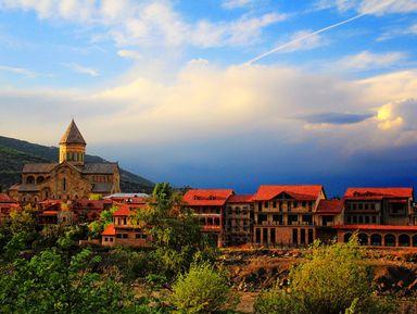 Город-музей Мцхета и средневековый замок Ананури