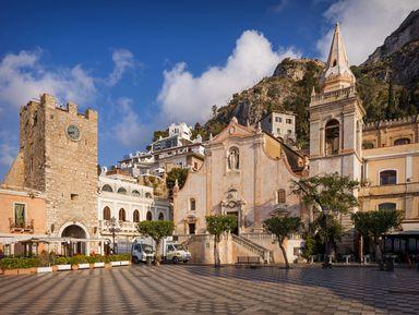 Таормина— тихий рай Сицилии