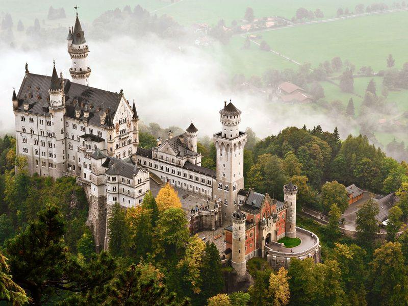 Роскошные замки Баварии