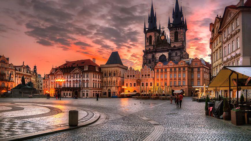 Прага, которая вдохновляет