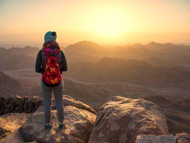 По святым местам Синая: рассвет на горе Моисея
