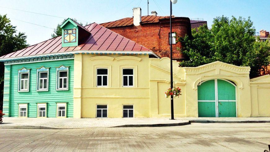 Старо-Татарская слобода итайны озера Кабан