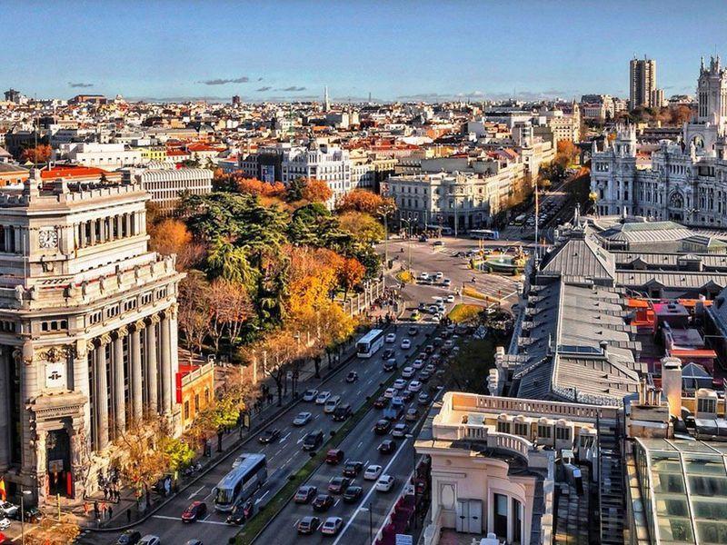 Экскурсия Четыре Мадрида иодна улица