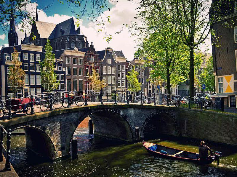 Экскурсия Первые шаги вАмстердаме