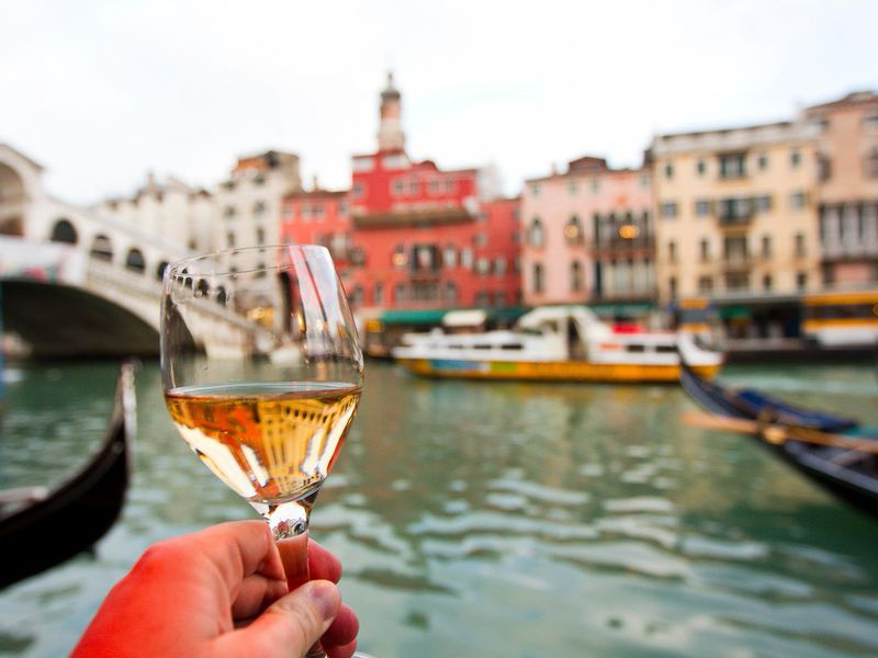 Экскурсия Винный мир Италии свенецианским сомелье