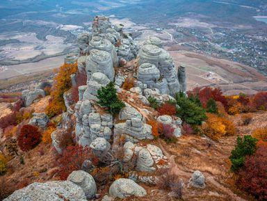 Треккинг на гору Демерджи