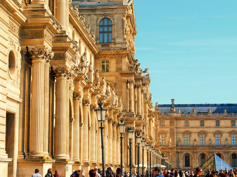 Экскурсия Лувр сквозь века и эпохи