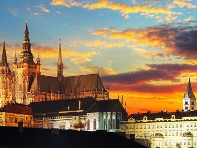 Групповая автобусная экскурсия повечерней Праге