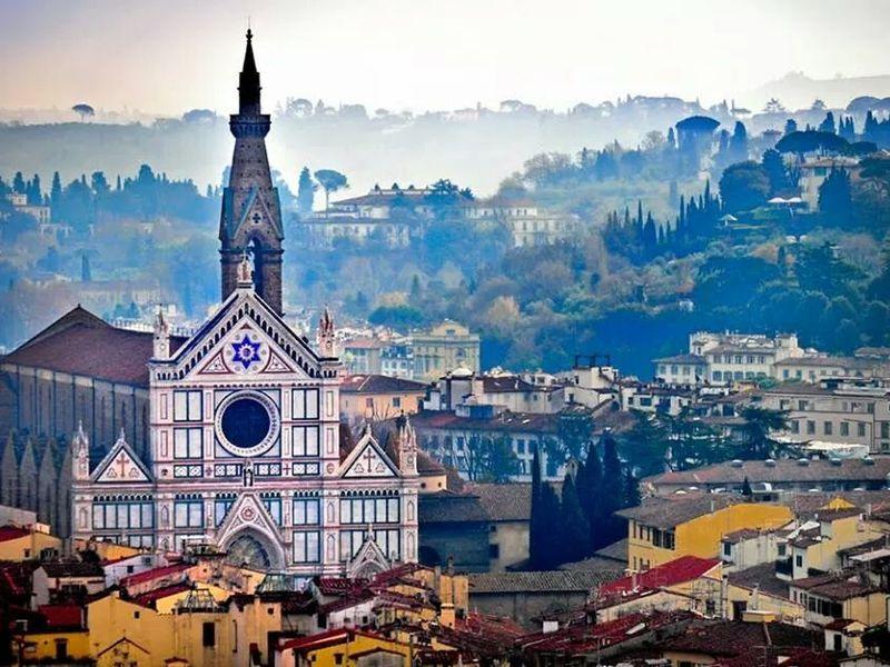 Экскурсия История Флоренции вбазилике Санта-Кроче