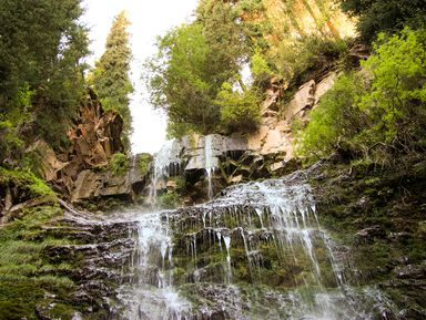 Сказочные водопады Красной Поляны