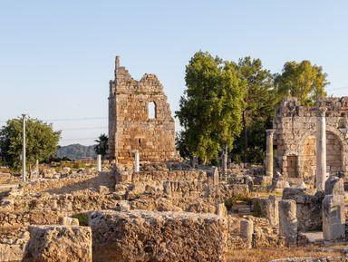 Античные города Перге и Аспендос: путешествие из Сиде