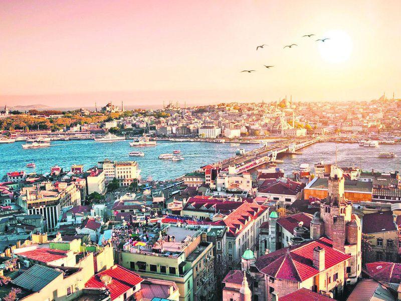 Экскурсия Азиатский Стамбул отрассвета дозаката