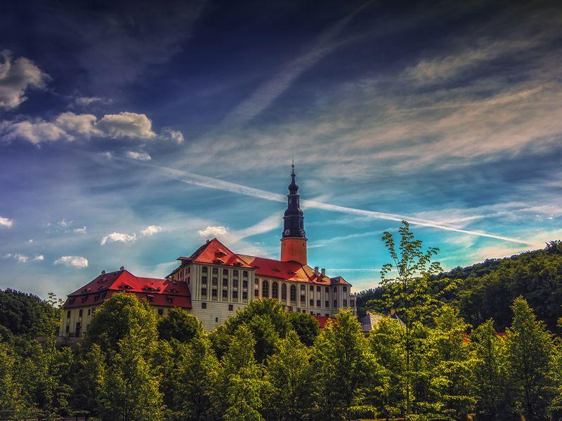 Экскурсия Сокровища Саксонии: замок Везенштайн и фарфоровый Майсен