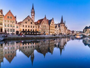 Влюбиться в Гент за 3 часа!