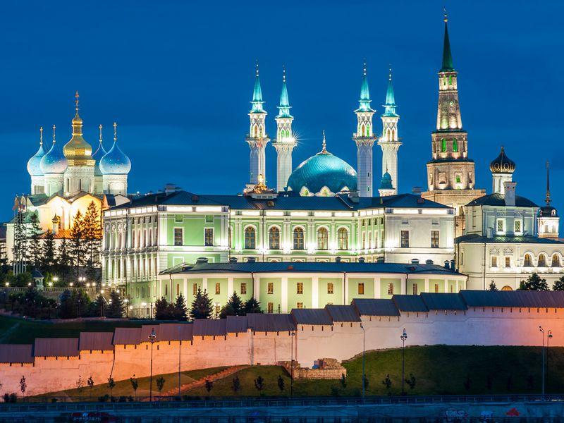 Экскурсия Вечерняя Казань вчера исегодня