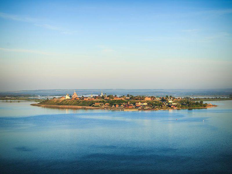 Экскурсия Речная экскурсия в остров-град Свияжск