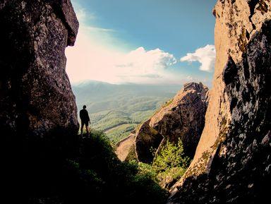 Поход по заповедному лесу — к горам Индюк