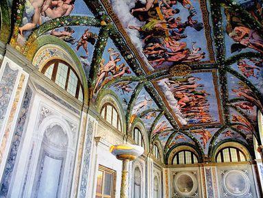 Работы Бернини и Караваджо в галерее Боргезе