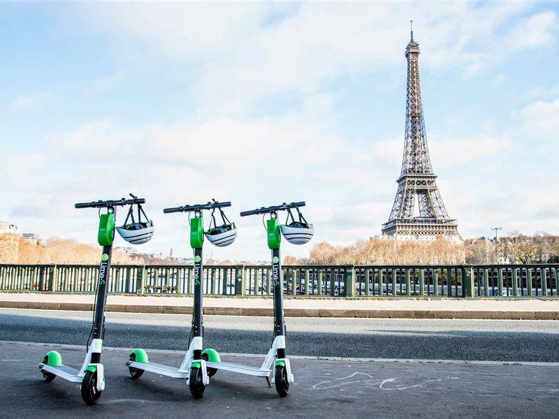 Экскурсия Главное в Париже на электросамокатах