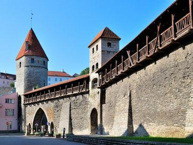 Прогулка вдоль крепостной стены
