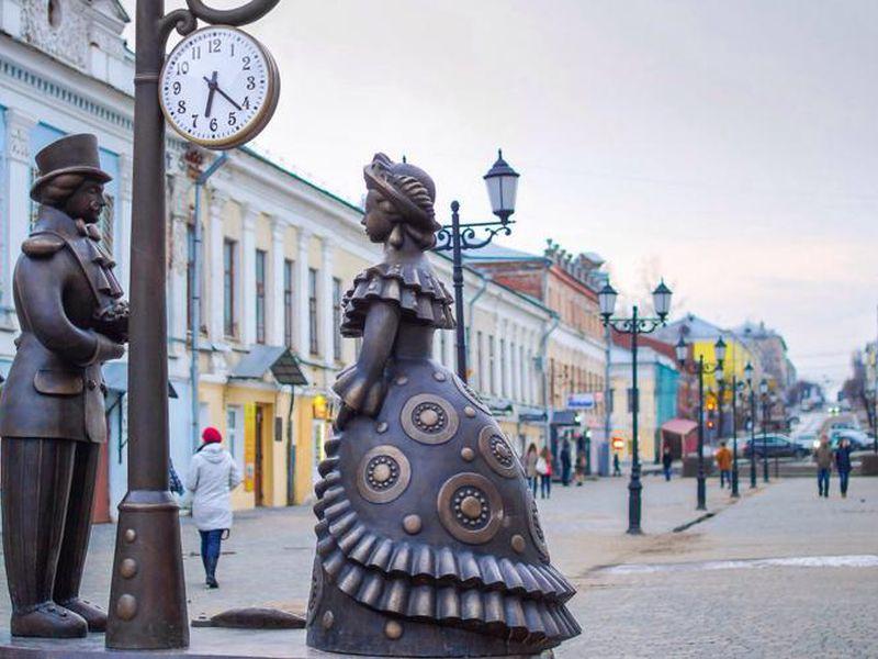 Экскурсия Обзорная прогулка от Вятки до Кирова