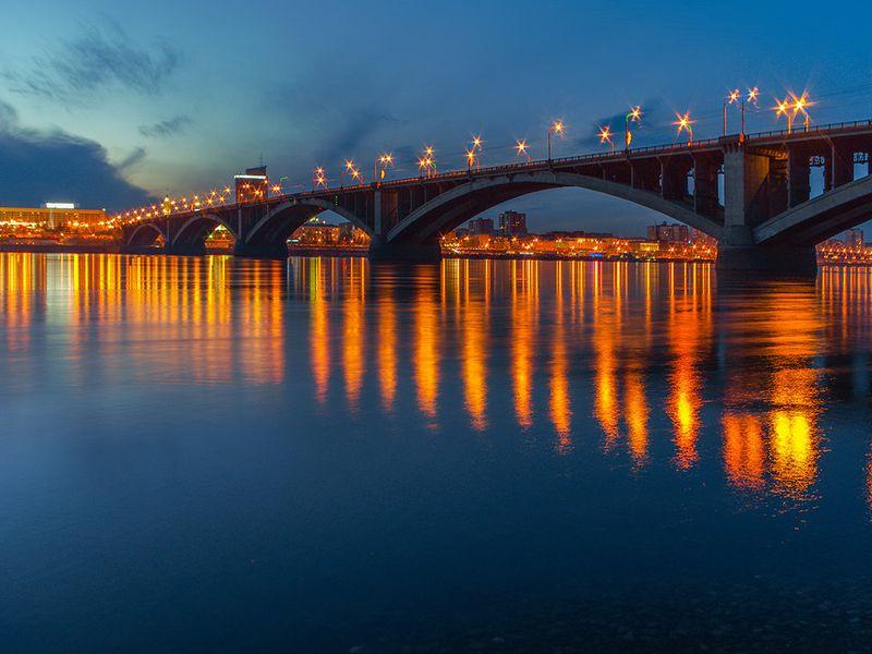 Экскурсия Влюбиться в Красноярск за два часа