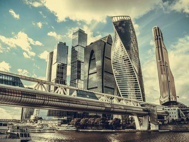 Москва-Сити + смотровая вбашне «Око»