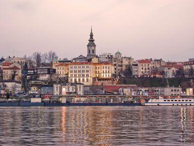 На кораблике по рекам Белграда