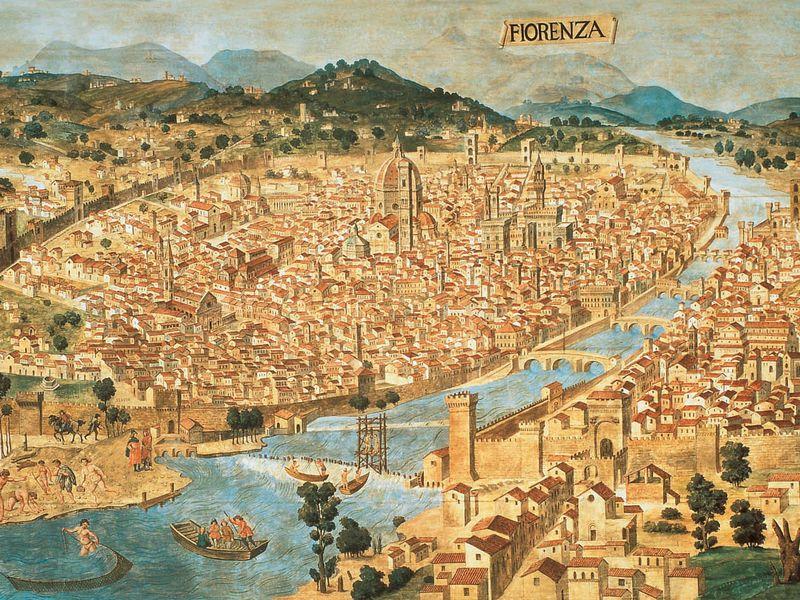 Экскурсия Прогулка по Флоренции сквозь тысячелетия