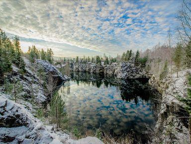 Рускеала, Белые мосты и другие водопады Южной Карелии