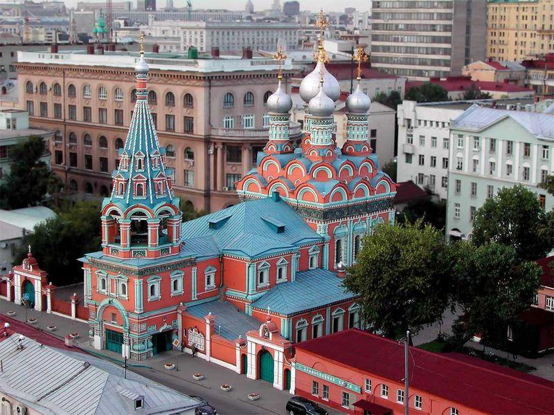 Экскурсия По старинным улицам Москвы