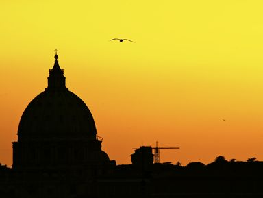 Рим с высоты птичьего полета