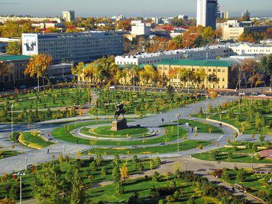 «Красавец Ташкент»: авто-пешеходная экскурсия