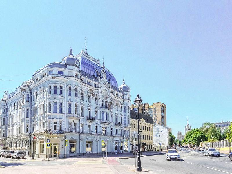 Экскурсия Исторический треугольник Москвы