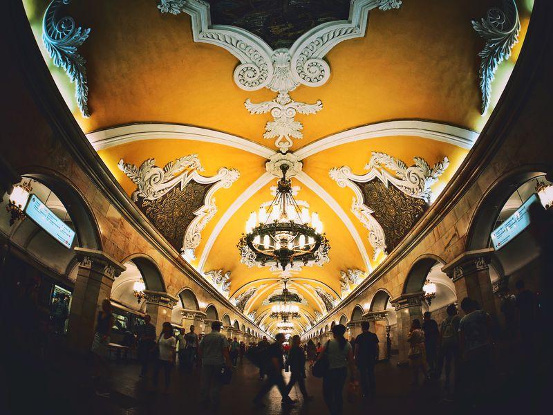 Экскурсия Под семью холмами: самые красивые станции московского метро