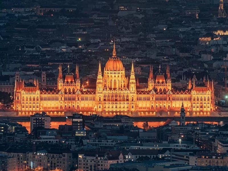 Экскурсия Ночь. Замок. Буда