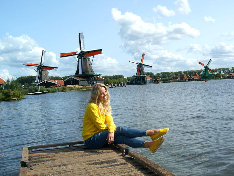 Фото Заансе-Сханс— живая история Нидерландов