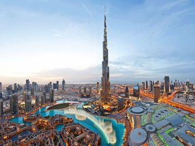 Первый день в Дубае